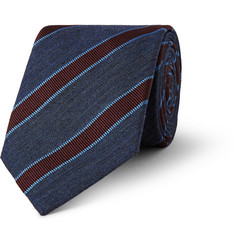 Gucci Striped Silk-Blend Tie