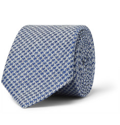 Gucci Textured Wool and Silk-Blend Tie