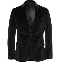 Paul Smith London Black Soho Slim-Fit Velvet Blazer