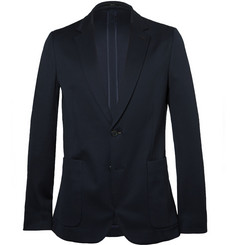 Paul Smith London Navy Soho Slim-Fit Jersey Blazer