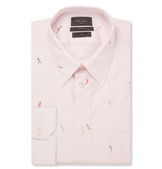Paul Smith London Pink Printed Cotton Shirt