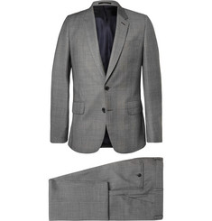 Paul Smith London Grey Soho Slim-Fit Check Wool Suit