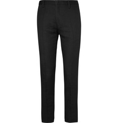 Paul Smith Slim-Fit Linen, Wool And Cotton-Blend Trousers