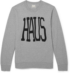 Paul Smith Haus Printed Cotton Sweatshirt