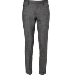Paul Smith Grey Slim-Fit Wool Suit Trousers