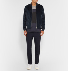 Paul Smith Velvet and Satin Bomber Jacket