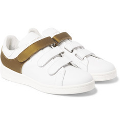 Alexander McQueen Leather Harness Sneakers