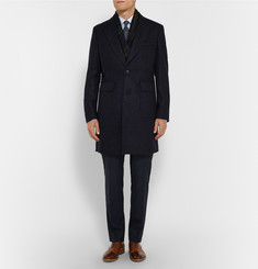 Hardy Amies Luther Slim-Fit Wool-Blend Coat