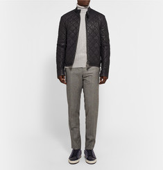 Berluti Quilted Leather Bomber Jacket