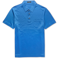 Berluti Cotton-Jersey Polo Shirt