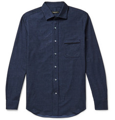 Berluti Checked Corduroy Shirt