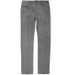 Berluti Slim-Fit Wool and Cashmere-Blend Trousers