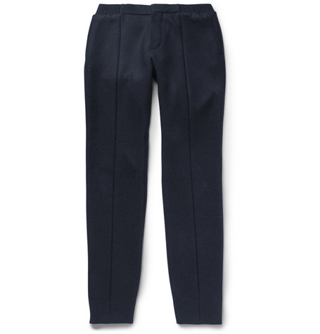 Wool And Cashmere Blend Trousers by Berluti