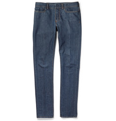 Berluti Slim-Fit Cotton and Cashmere-Blend Jeans
