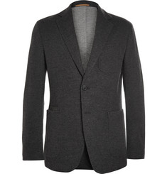 Berluti Charcoal Double-Faced Cashmere-Blend Blazer