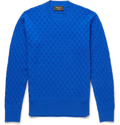 Berluti Textured-Cashmere Sweater