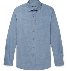 Berluti Check Cotton Shirt