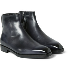 Berluti - Shearling-Lined Leather Boots