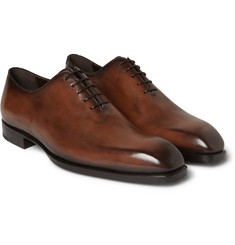 Berluti - Alessandro Capri Venezia Leather One-Cut Shoes