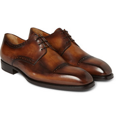 Berluti Blake Venezia Leather Derby Shoes