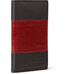 Alexander McQueen Coated Leather Cardholder