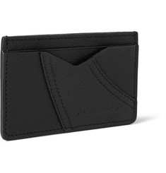 Alexander McQueen Textured-Leather Cardholder