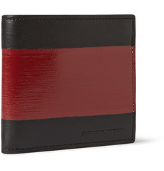 Alexander McQueen Coated Leather Billfold Wallet