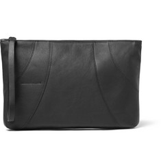 Alexander McQueen Panelled Leather Pouch