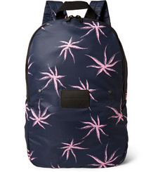 Marc by Marc Jacobs Packables Palm-Print Nylon Backpack