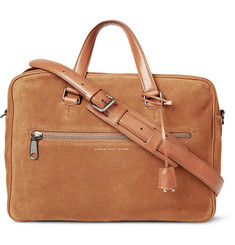 Marc by Marc Jacobs Johnny Suede Briefcase
