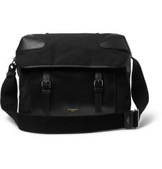 Givenchy Canvas and Leather Messenger Bag