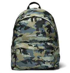 Givenchy Camouflage-Print Canvas Backpack