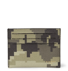 Givenchy Camouflage-Print Faux Leather Cardholder