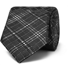 Givenchy Prince of Wales Silk and Wool-Blend Tie