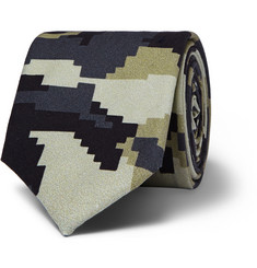Givenchy Patterned Cotton Tie