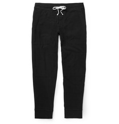 James Perse Knitted Cotton-Blend Jersey Sweatpants