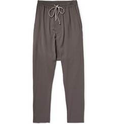 Rick Owens Drop-Crotch Muslin Trousers