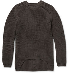 Rick Owens Ribbed-Knit Wool Sweater