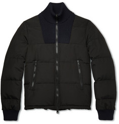 Maison Margiela Quilted Twill Down Bomber Jacket