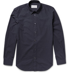 Maison Margiela Garment-Dyed Cotton Shirt
