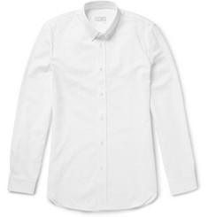 Maison Margiela Button-Down Collar Cotton Oxford Shirt