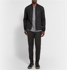 Lanvin Quilted Cotton-Blend Bomber Jacket