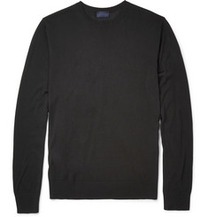 Lanvin Fine-Knit Silk Sweater