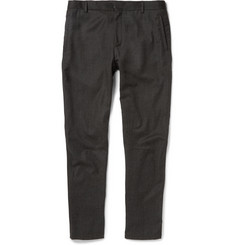 Lanvin Slim-Fit Cropped Wool and Cashmere-Blend Trousers