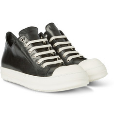 Rick Owens - Cap-Toe Leather Sneakers