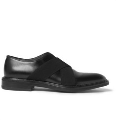 Givenchy Elasticated-Strap Leather Derby Shoes
