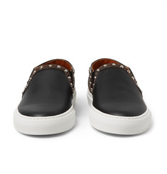 Givenchy Studded Leather Skate Shoes