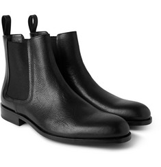 Lanvin - Panelled Leather Chelsea Boots