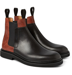Maison Margiela Panelled Leather Chelsea Boots