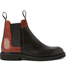 Maison Margiela Paneled Leather Chelsea Boots